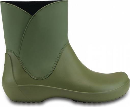 crocs-zelene-holinky-rainfloe-bootie-army-green-A