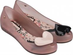 Melissa pudrové  Ultragirl + Alice in Wonderland II Light Pink