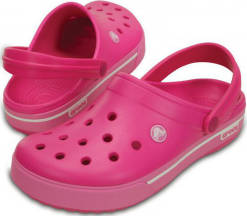 Crocs Pantofle Crocband II.5 Clog Candy Pink/Party Pink 12836-6lr 41-42
