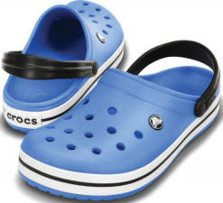 Crocs Pantofle Crocband Varsity Blue/Black 11016-4r4 45-46